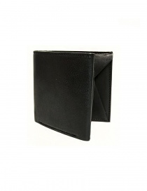 Cornelian Taurus Fold black leather wallet online