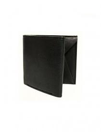 Portafoglio Cornelian Taurus Fold in pelle nera FOLD-WALLET-BLK