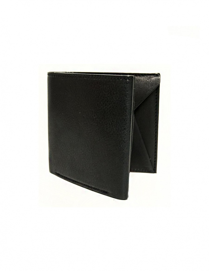 Cornelian Taurus Fold black leather wallet FOLD-WALLET-BLK wallets online shopping