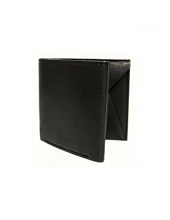 Portafoglio Cornelian Taurus Fold in pelle nera FOLD-WALLET-BLK portafogli online shopping
