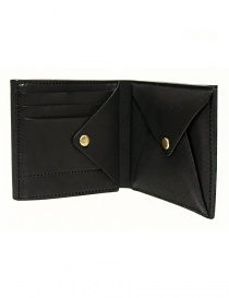 Cornelian Taurus Fold black leather wallet buy online