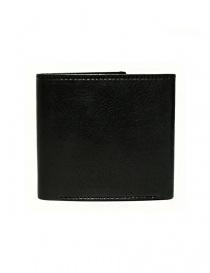 Portafoglio Cornelian Taurus Fold in pelle nera prezzo