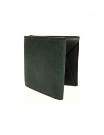 Cornelian Taurus Fold green leather wallet online
