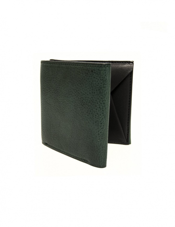 Cornelian Taurus Fold green leather wallet FOLD-WALLET-GREEN wallets online shopping