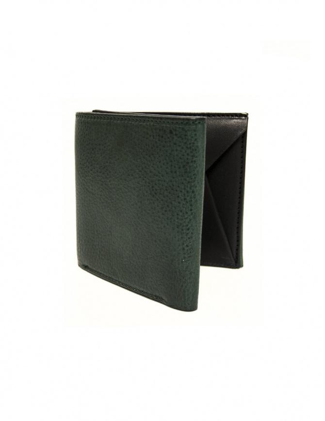 310323f4b9 Portafoglio Cornelian Taurus Fold in pelle verde FOLD-WALLET-GREEN  portafogli online shopping