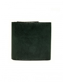 Cornelian Taurus Fold green leather wallet buy online