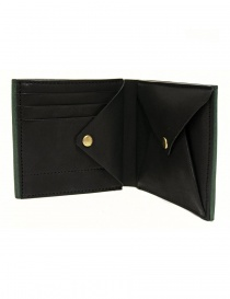 Cornelian Taurus Fold green leather wallet price