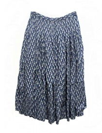 Casey Casey bloom indigo skirt