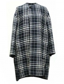 Cappotto Fadthree colore nero bianco e navy 13FDF05-04-NAVY-WHIT order online