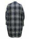 Cappotto Fadthree colore nero bianco e navyshop online cappotti donna