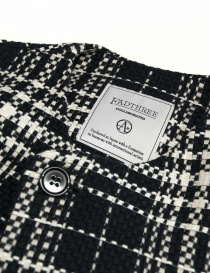 Fadthree coat white and navy color price