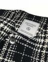 Cappotto Fadthree colore nero bianco e navy 13FDF05-04-NAVY-WHIT prezzo