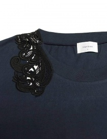 Harikae navy short sleeve sweater price
