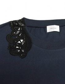 Harikae navy short sleeved sweater price