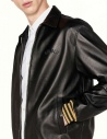 Golden Goose Coach black leather jacket G30MP539-A1 price