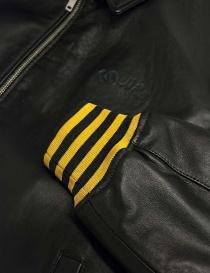 Giubbino Golden Goose Coach in pelle nera giubbini uomo acquista online