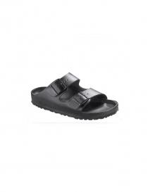 Sandalo da uomo due fasce Birkenstock Monterey in pelle nera online
