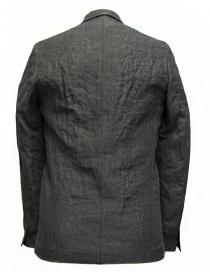 Giacca Label Under Construction Classic colore grigio