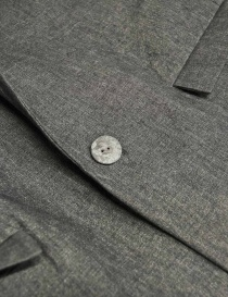 Giacca Label Under Construction Classic colore grigio prezzo