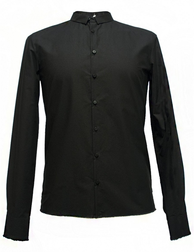Camicia Label Under Construction Frayed Buttonholes colore nero 29FMSH36 CO184 29/9 SHIRT camicie uomo online shopping