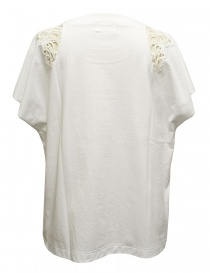 Harikae white short sleeve sweater buy online