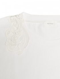 Harikae white short sleeve sweater price