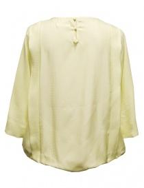 Camicia Harikae in seta colore giallo