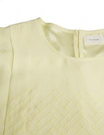 Camicia Harikae in seta colore giallo prezzo