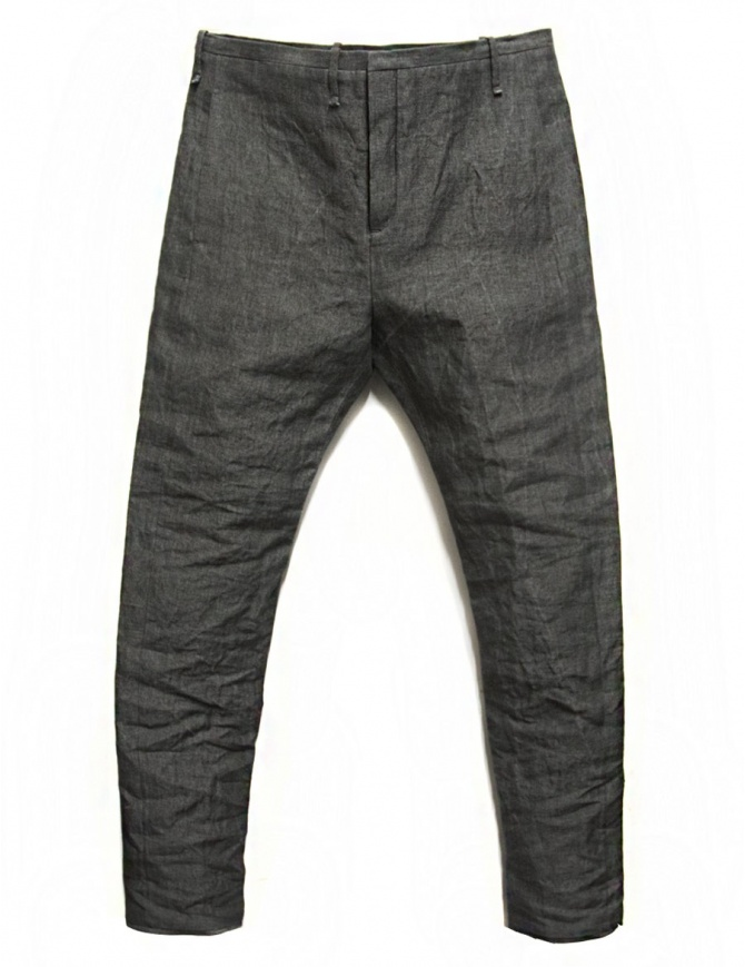 Pantalone Label Under Construction Front Cut colore grigio 29FMPN73-LC16A-29-5 pantaloni uomo online shopping