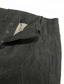 Pantalone Label Under Construction Front Cut colore grigio prezzo