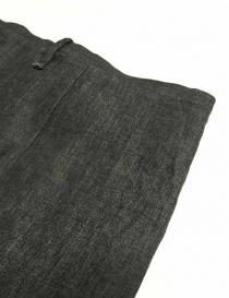 Pantalone Label Under Construction Front Cut colore grigio pantaloni uomo acquista online
